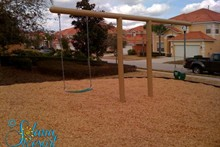 Kids Swing at Play Area