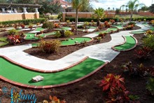 Minigolf at Solana Resort